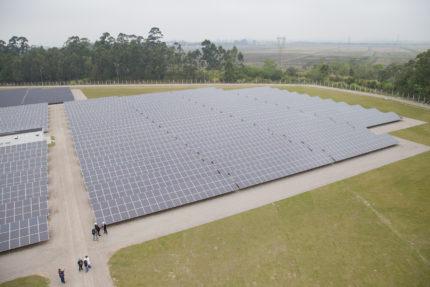 Resultado de imagem para usina solar da rede globo em pe
